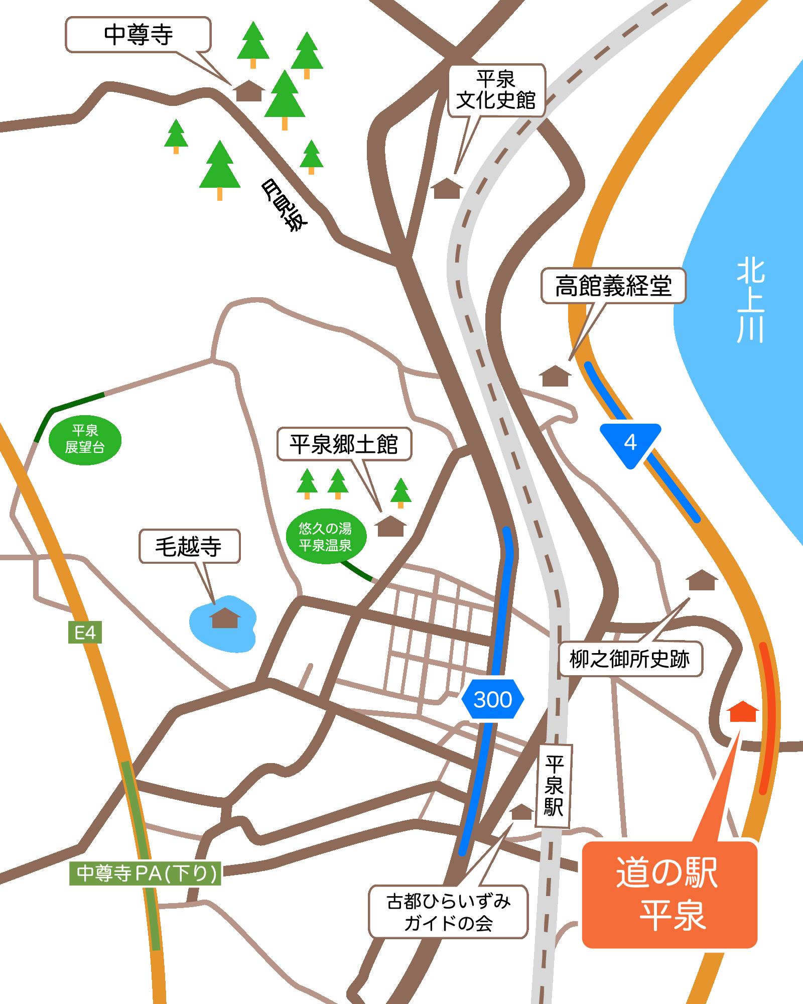 広域地図データ